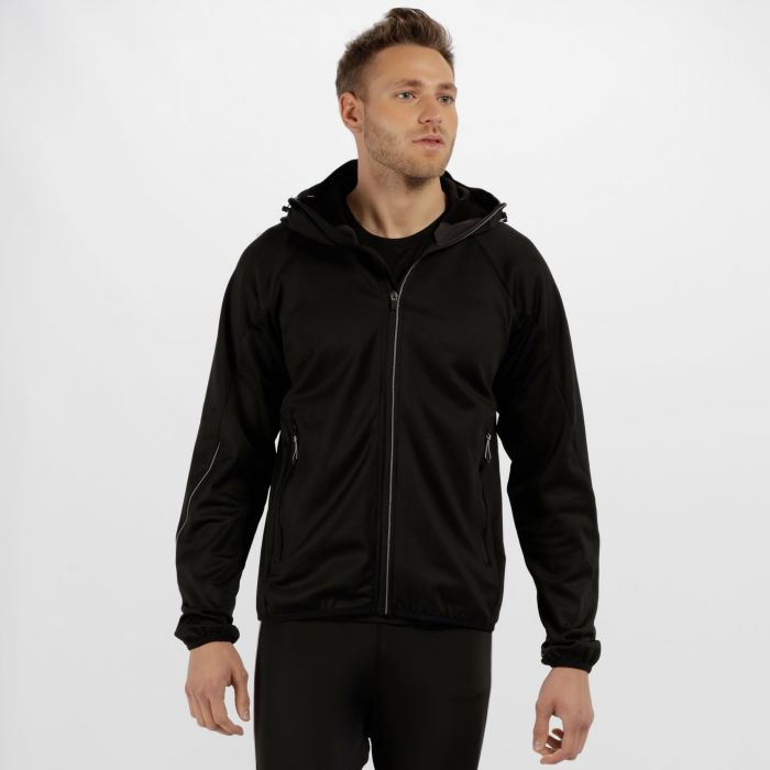 Men's Helsinki Stretch Softshell Jacket Black