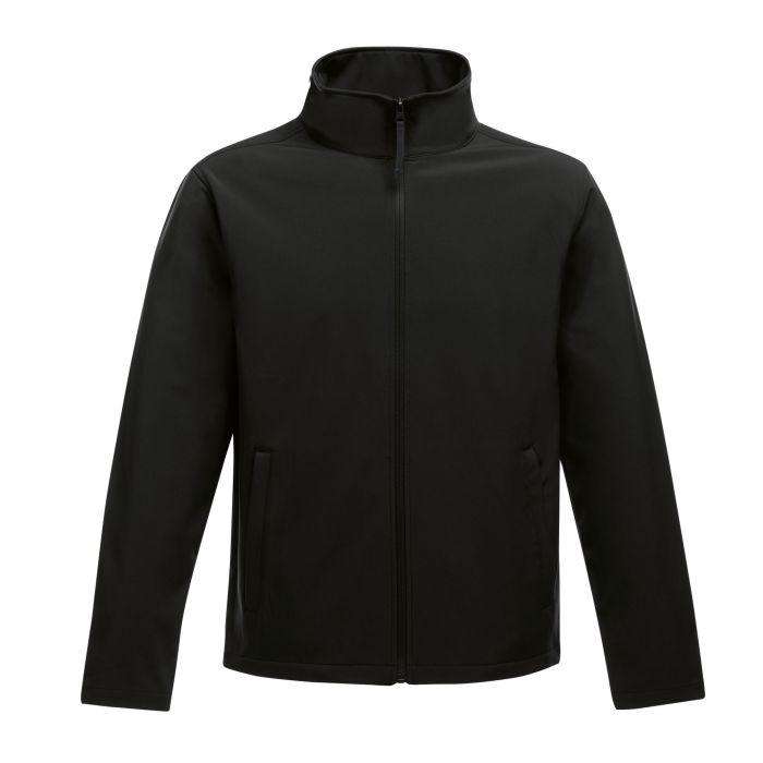 picture relating to Printable Jacket titled Mens Ablaze Printable Softs Jacket Black