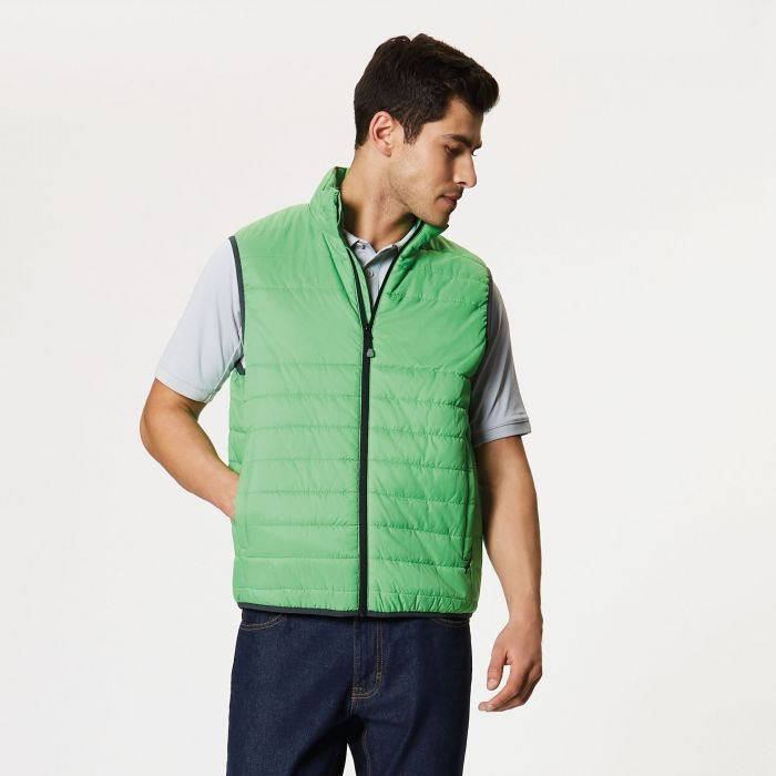 Aerolight Down Touch Bodywarmer Fairway Green