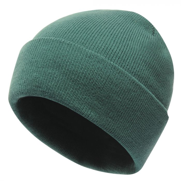 Axton Cuffed Beanie Bottle Green