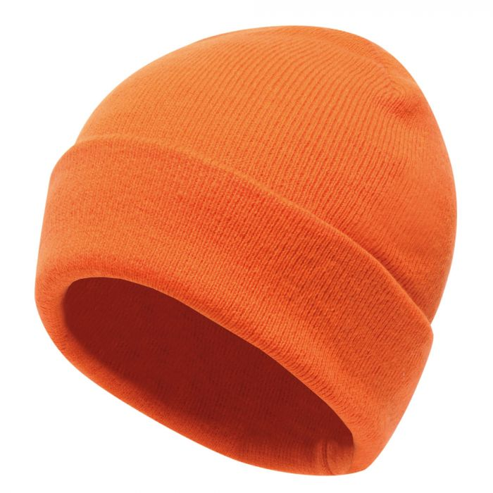 Axton Cuffed Beanie Magma Orange