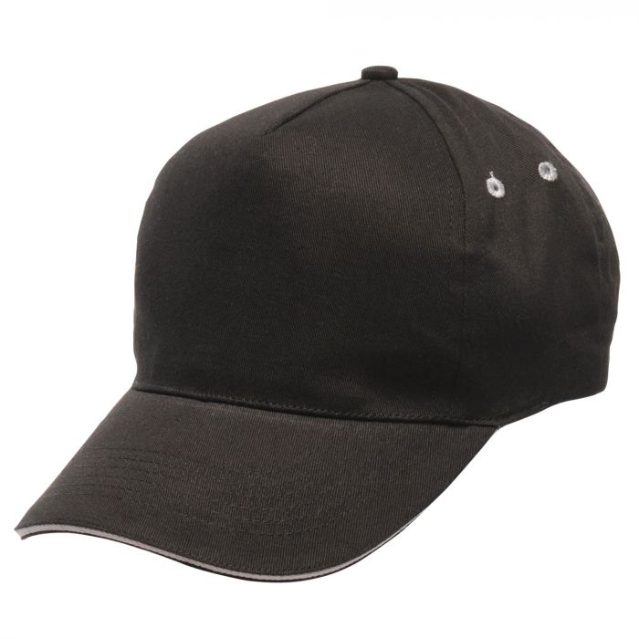 Amston Cap Black Light Steel