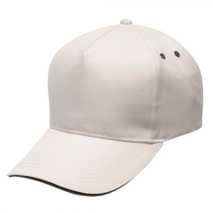 Amston Cap White Navy