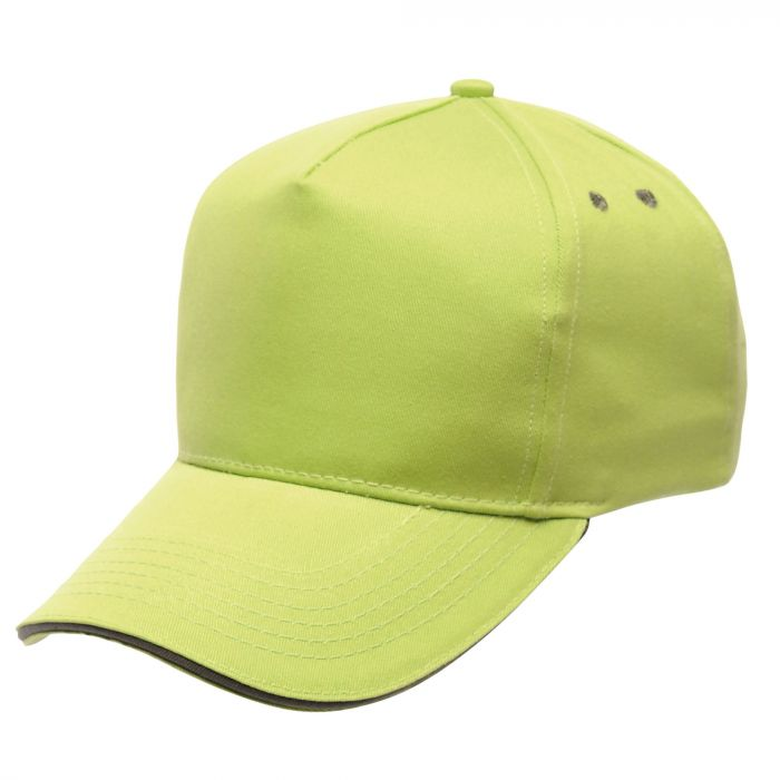 Amston Cap Lime Seal Grey