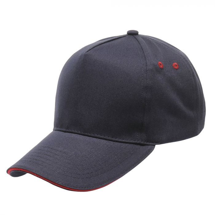 Amston Cap Navy Classic Red