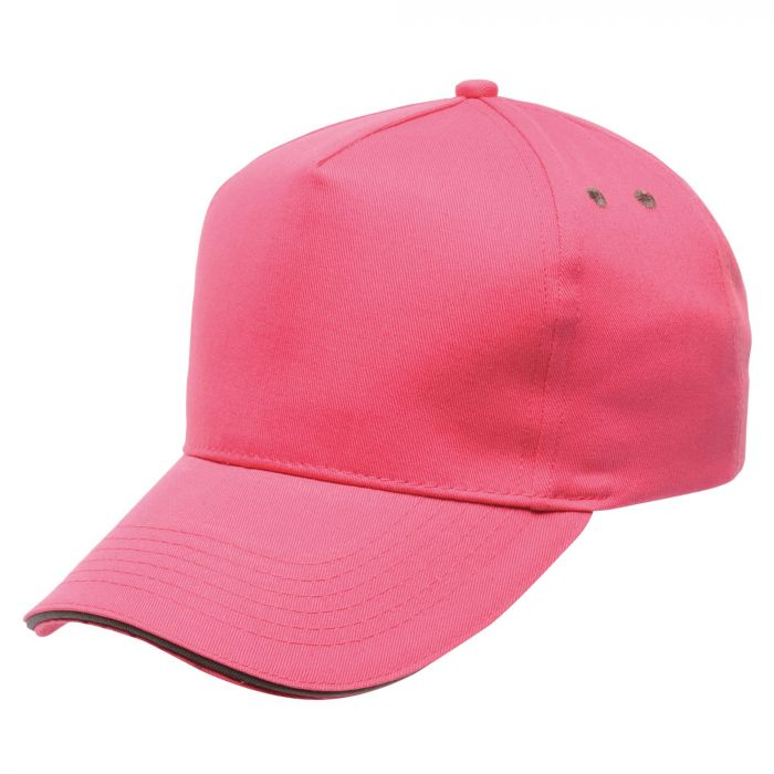 Amston Cap Hot Pink Seal Grey