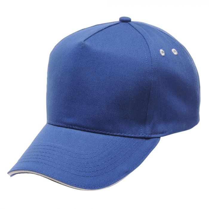 Amston Cap Oxford Blue White