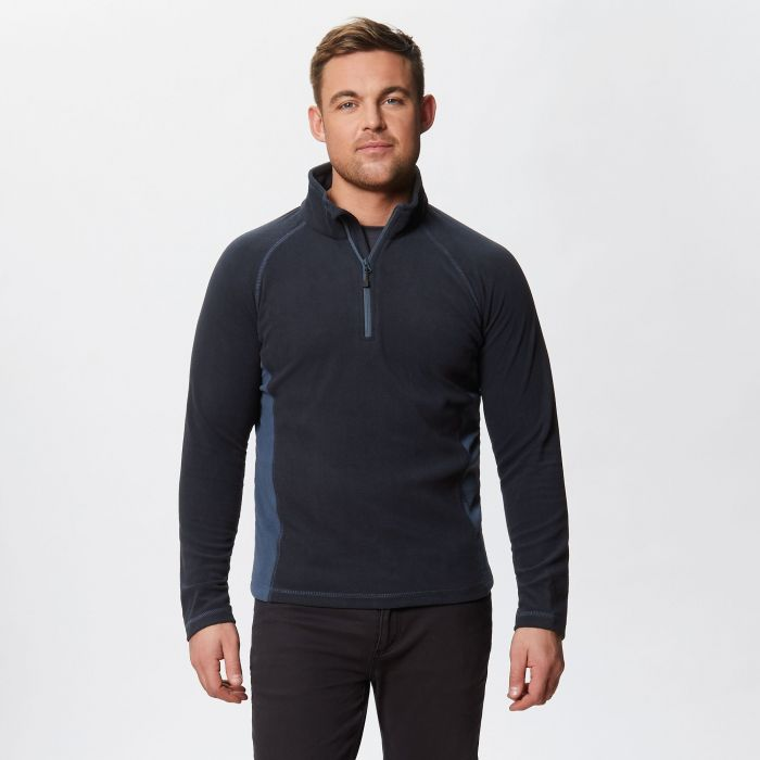 Ashmore Half Zip Fleece Navy Dark Denim