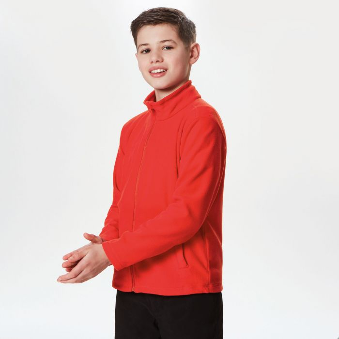 Kids Brigade II Full Zip Fleece Classic Red