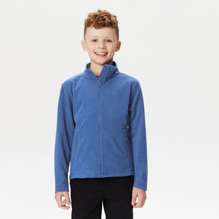 Kids Brigade II Full Zip Fleece Royal Blue