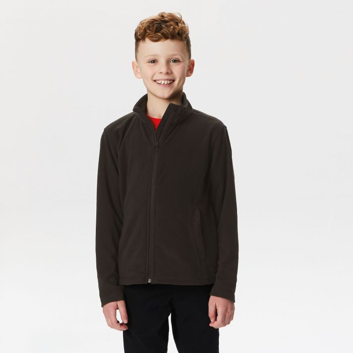 Kids Brigade II Full Zip Fleece Black