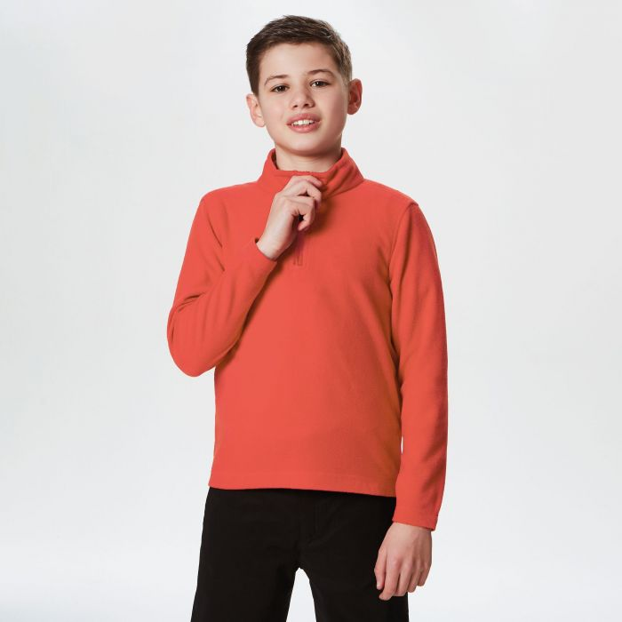 Kids Brigade Half Zip Fleece Classic Red