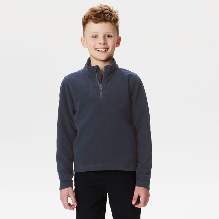 Kids Brigade Half Zip Fleece Navy