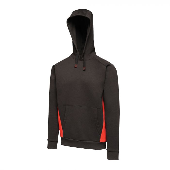 Men's Vancouver Hoodie Black Classic Red