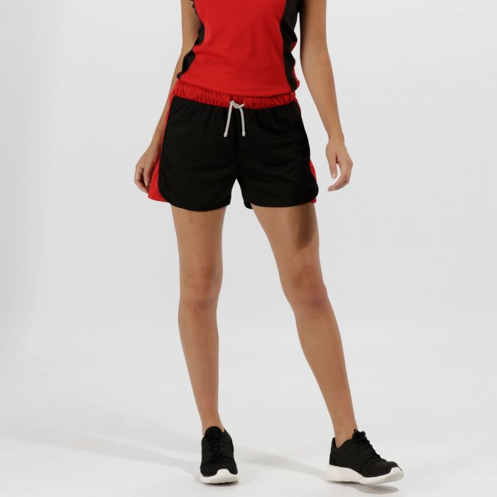 Women's Tokyo Sport Shorts Black Classic Red