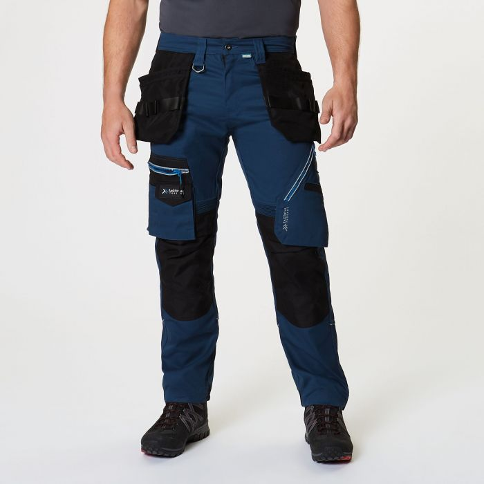 Execute Holster Premium Work Trousers Blue Wing