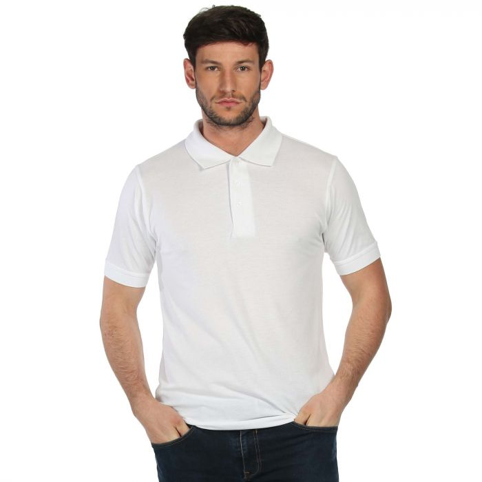 Cls Cotton Polo White