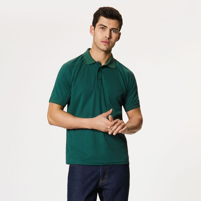 Coolweave Polo Shirt Bottle Green