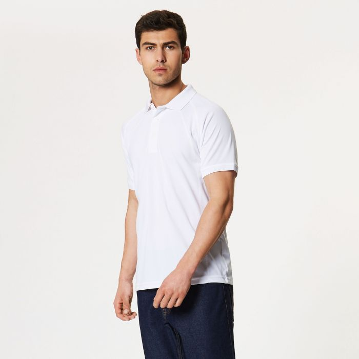 Coolweave Polo Shirt White