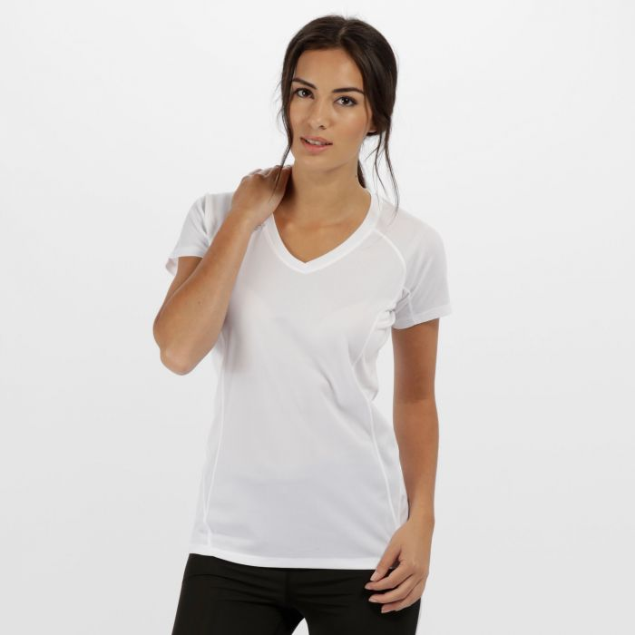 Women's Beijing Lightweight Cool and Dry Sports T-Shirt White