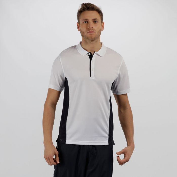 Men's Salt Lake Light and Dry Sports Polo Shirt White