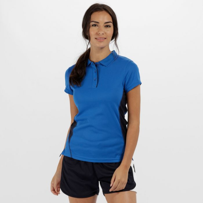 Women s Salt Lake Light and Dry Polo Shirt Oxford Blue  03f268d182
