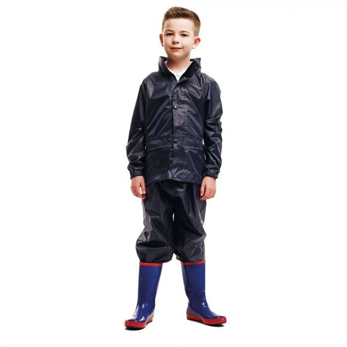 Kids 2 Piece Puddle Suit Navy