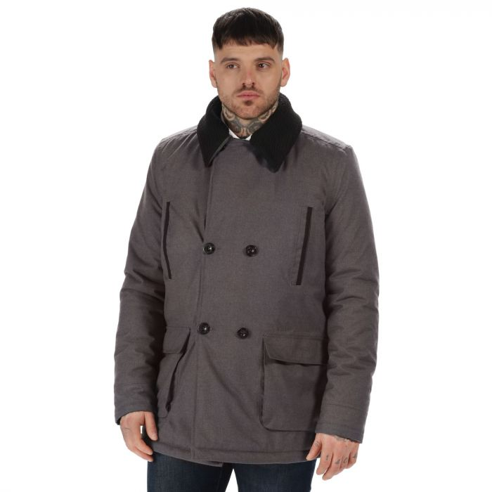 Originals Whitworth Breathable Waterproof Double Breasted Jacket Ash