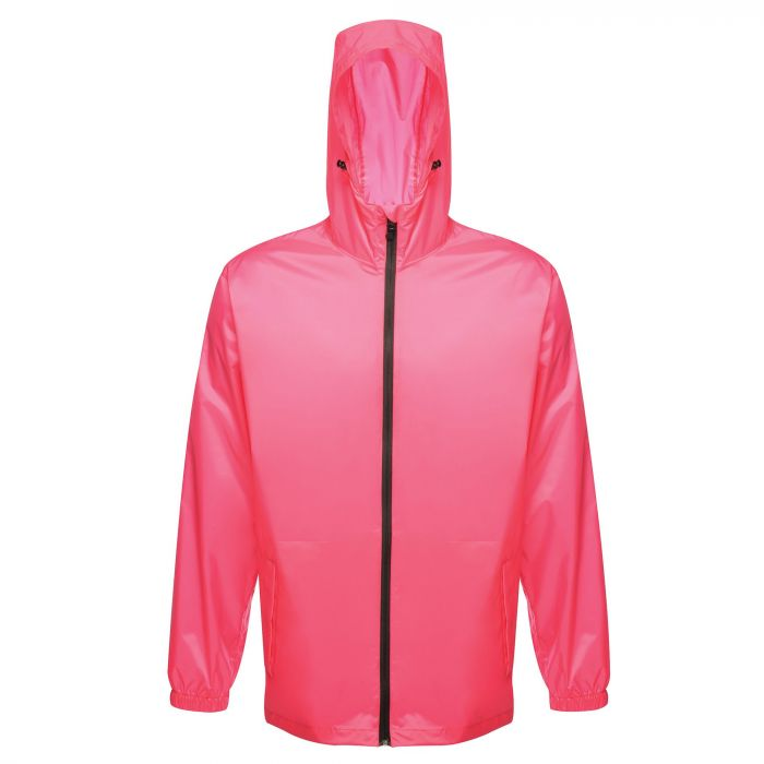 ea185d654 Unisex Arid Waterproof Breathable Rainshell Jacket Hot Pink