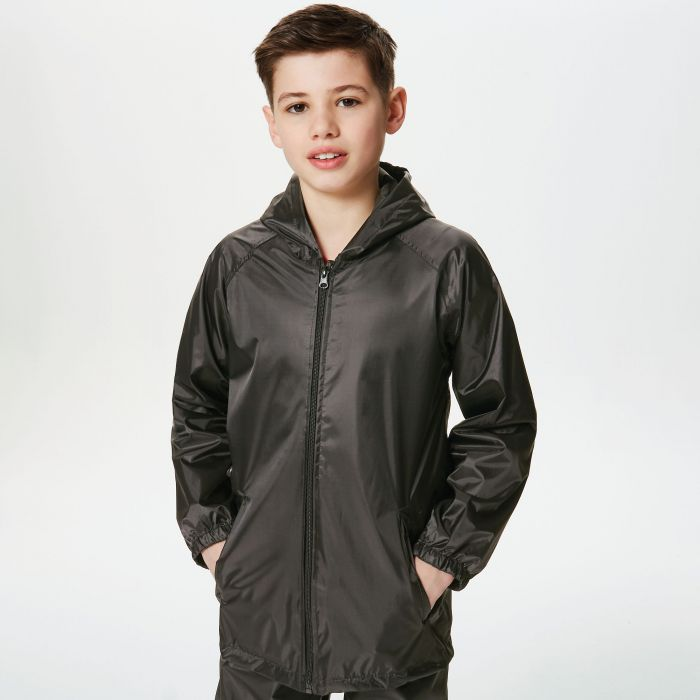 Kids Pro Stormbreak Shell Waterproof Jacket Black