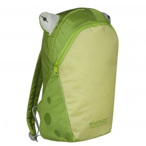Kids Zepher Animal Daypack Rucksack Frog Green