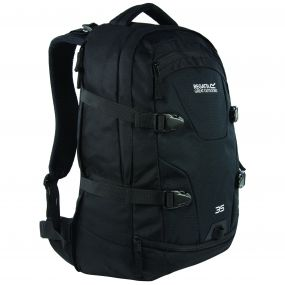 Paladen 35 Litre Laptop Backpack Rucksack Black