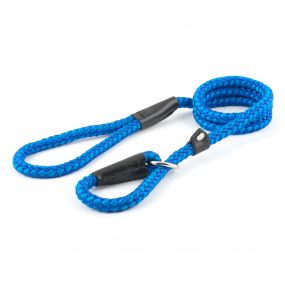 Ancol Rope Slip Lead Blue