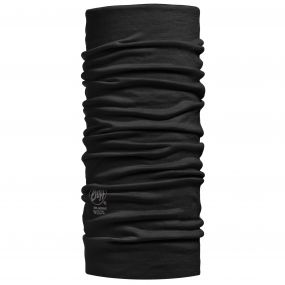 Buffera Merino Wool Buff Black
