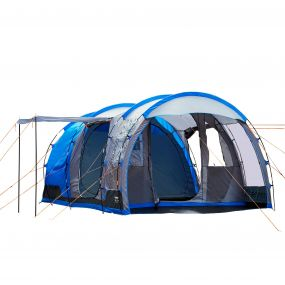 Vanern 4-Man Family Tunnel Tent Blue-Grey