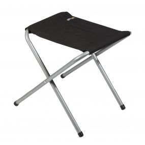Marcos Lightweight Folding Camping Stool Black Seal Grey
