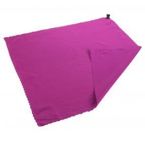 Pocket Travel Towel Dark Cerise