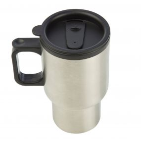 Steel Commuter Mug Silver