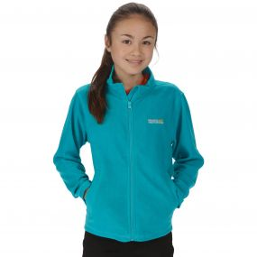 Kids King II Lightweight Full Zip Fleece Enamel