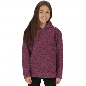 Kids Khrissa Mid Weight Overhead Hooded Fleece Winberry Ash Rose