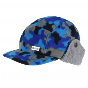 Kids Destroyer Trapper Hat Navy Camo
