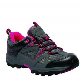 Kids Gatlin Low Walking Shoes Granite Duchess