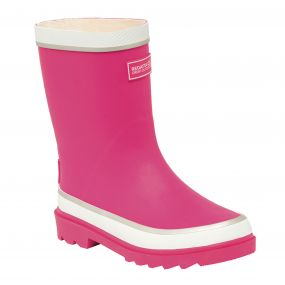Kids Foxfire Wellington Boots Jem White