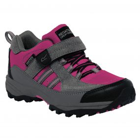 Kids Trailspace II Low Walking Shoes Jem Charcoal
