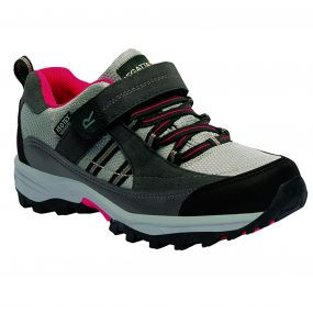 Kids Trailspace II Low Walking Shoes Dark Steel Lollipop