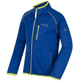 Kids Limit Basic Softshell Jacket Surf Spray