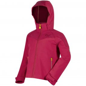 Kids Acidity Hooded Softshell Jacket Duchess Reflective