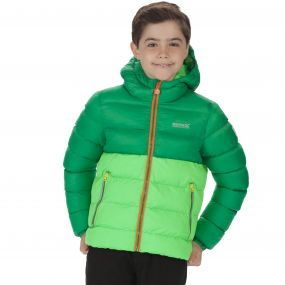 Kids Lofthouse Super Heavyweight Insulated Jacket Verdant Fairway Green