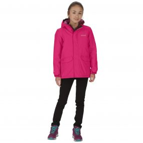 Kids Hurdle Waterproof Reflective Hooded Jacket Duchess