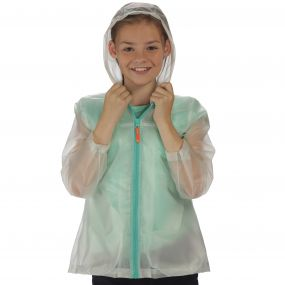 Girls Epping Jacket Clear